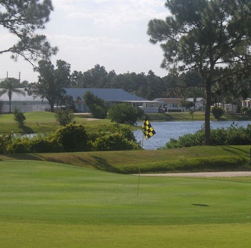 Golf Course Photo, Lily Lake Golf Resort, Frostproof, Florida, 33843