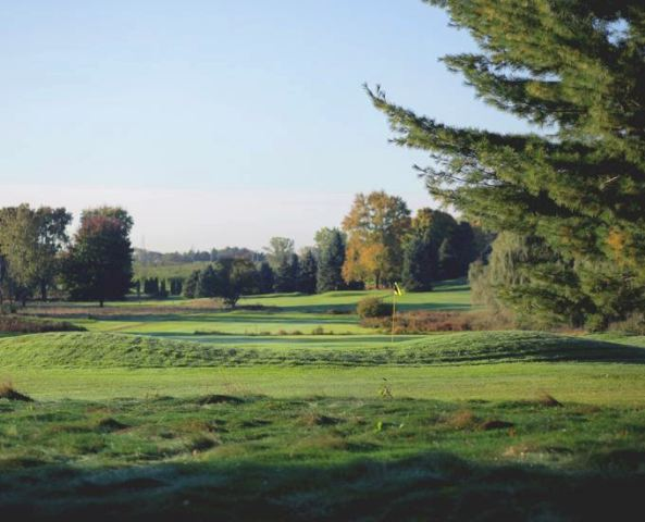 Golf Course Photo, Lincoln Country Club, Grand Rapids, 49544