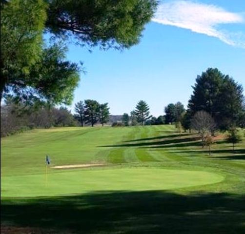 Golf Course Photo, Link Hills Country Club, Greeneville, 37743