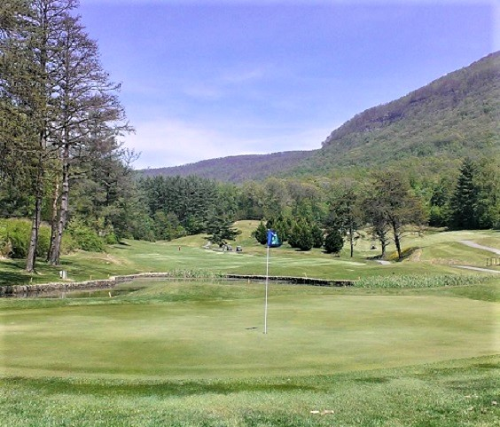 Golf Course Photo, Lonesome Pine Country Club, Big Stone Gap, Virginia, 24219
