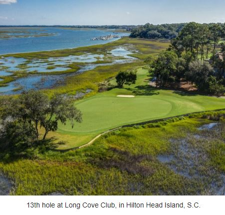 Long Cove Club, Hilton Head Island, South Carolina,  - Golf Course Photo