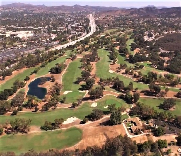Los Robles Greens Golf Course, Thousand Oaks, California,  - Golf Course Photo