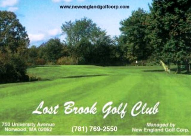 Lost Brook Golf Club, Norwood, Massachusetts,  - Golf Course Photo