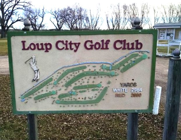 Golf Course Photo, Loup City Golf Club, Loup City, Nebraska, 68853