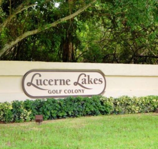 Lucerne Lakes Golf Club, Lake Worth, Florida,  - Golf Course Photo
