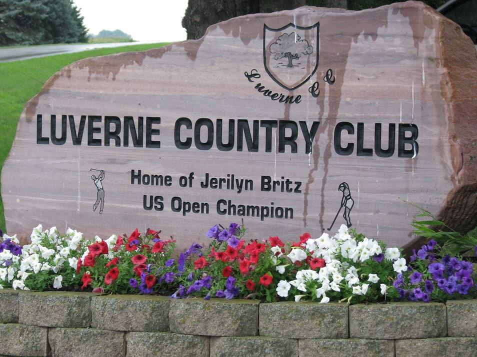 Luverne Country Club, Luverne, Minnesota,  - Golf Course Photo