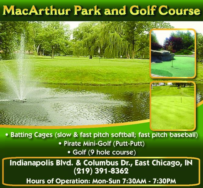 Mac Arthur Golf Course, East Chicago, Indiana,  - Golf Course Photo