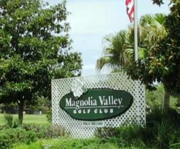 Magnolia Valley Golf Club, Championship Course, CLOSED 2014,New Port Richey, Florida,  - Golf Course Photo