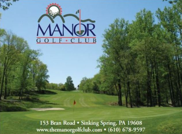 Golf Course Photo, Manor Golf Course, Sinking Spring, 19608