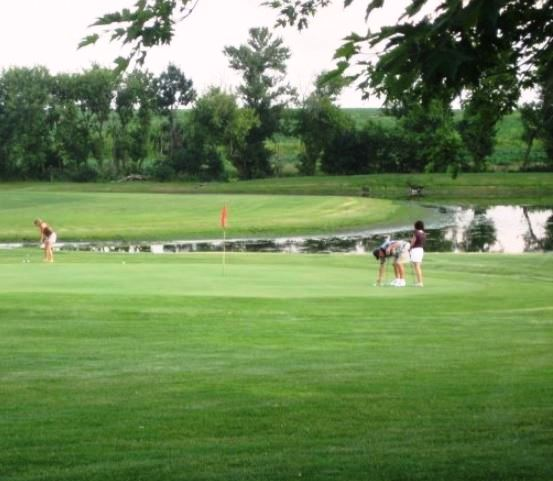 Golf Course Photo, Maple Heights Golf & Country Club, Elma, Iowa, 50628