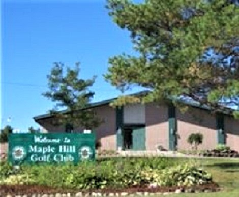 Maple Hill Golf Club, CLOSED 2015, Hemlock, Michigan,  - Golf Course Photo