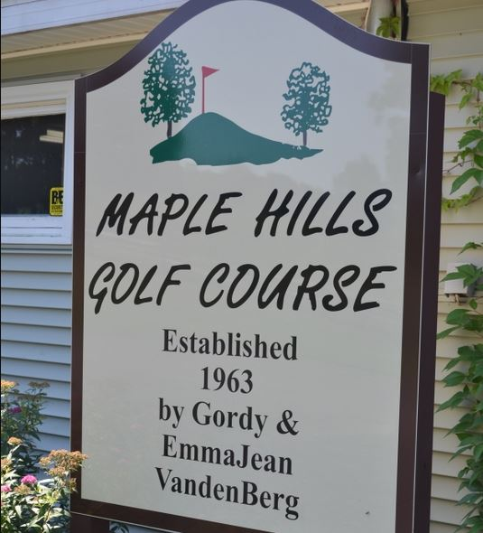 Maple Hills Golf Club, CLOSED 2020, Augusta, Michigan,  - Golf Course Photo