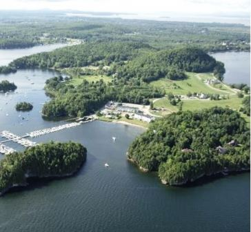 Marble Island Resort Golf Course, CLOSED 2002,Colchester, Vermont,  - Golf Course Photo