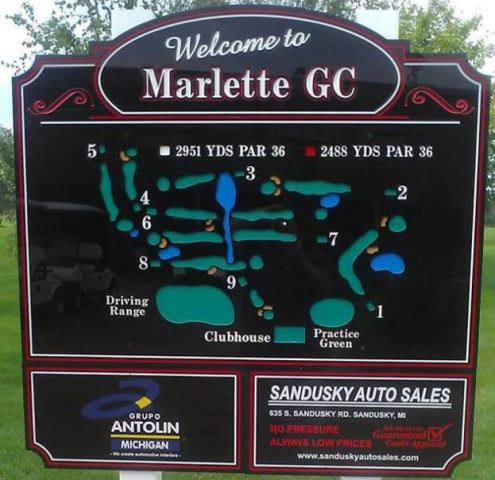 Marlette Golf Club | Marlette Golf Course, Marlette, Michigan,  - Golf Course Photo
