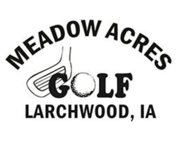 Golf Course Photo, Meadow Acres Golf Course, Larchwood, Iowa, 51241