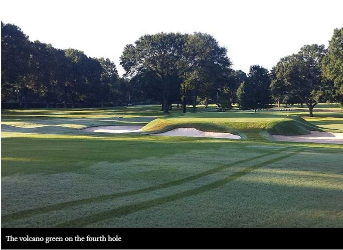 Memphis Country Club, Memphis, Tennessee,  - Golf Course Photo