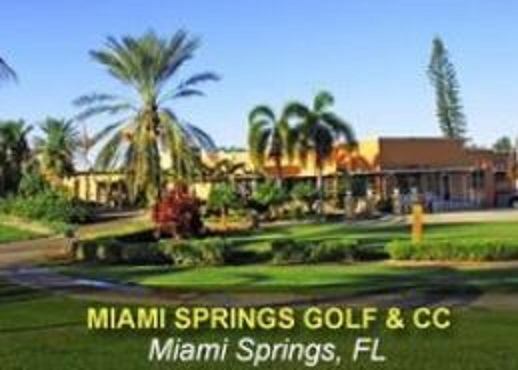 Golf Course Photo, Miami Springs Golf Course, Miami Springs, Florida, 33166