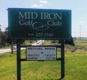 Mid - Iron Golf Club