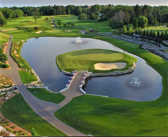 Midland Country Club, Midland, Michigan,  - Golf Course Photo
