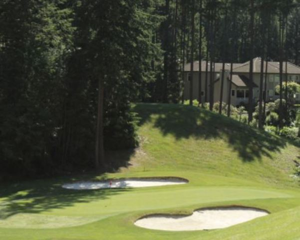 Golf Course Photo, Mill Creek Country Club, Mill Creek, Washington, 98012
