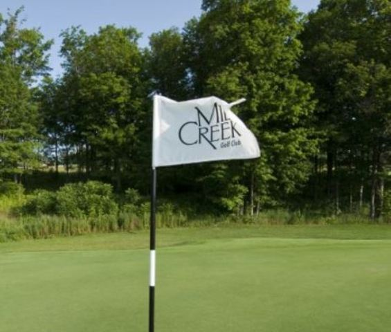 Golf Course Photo, Mill Creek Golf Course, Short Course, Churchville, New York, 14428