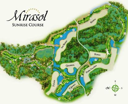Country Club of Mirasol, Sunrise Course,Palm Beach Gardens, Florida,  - Golf Course Photo