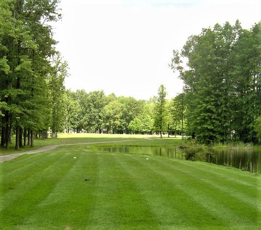 Golf Course Photo, Mohawk Trails Golf Club, CLOSED 2014, Edinburg, 16116