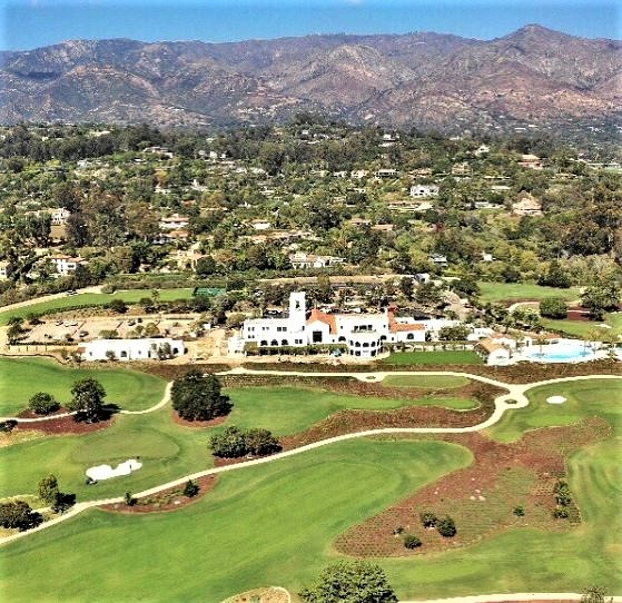 Montecito Club, Santa Barbara, California,  - Golf Course Photo
