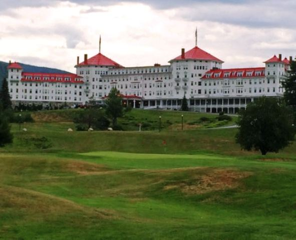 Golf Course Photo, Mount Washington Resort, Mount Pleasant Golf Course, Bretton Woods, 03575