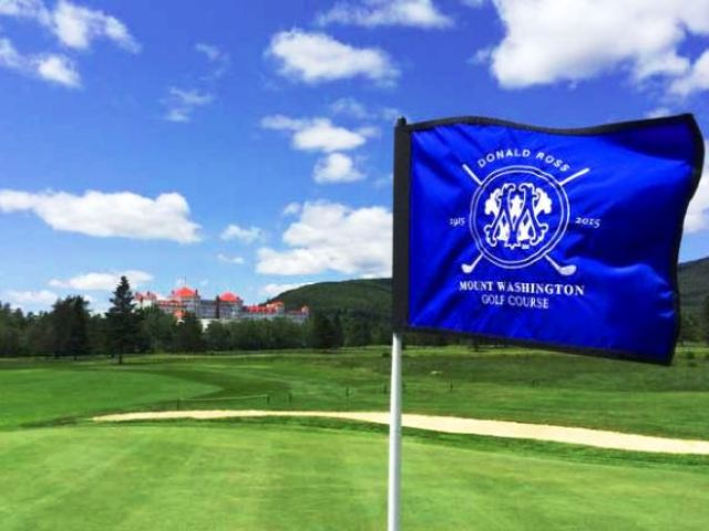 Mount Washington Resort, Mount Washington Golf Course,Bretton Woods, New Hampshire,  - Golf Course Photo