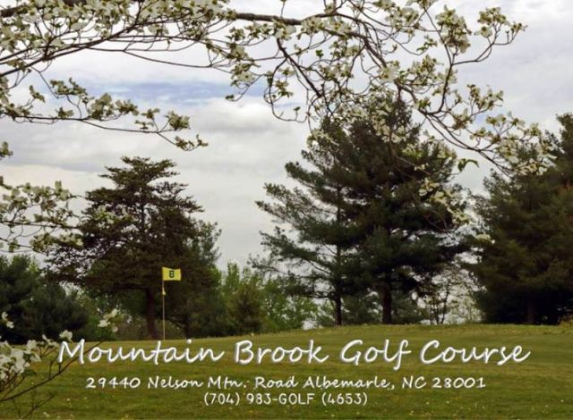 Golf Course Photo, Mountain Brook Golf Club, CLOSED 2014, Albemarle, 28001