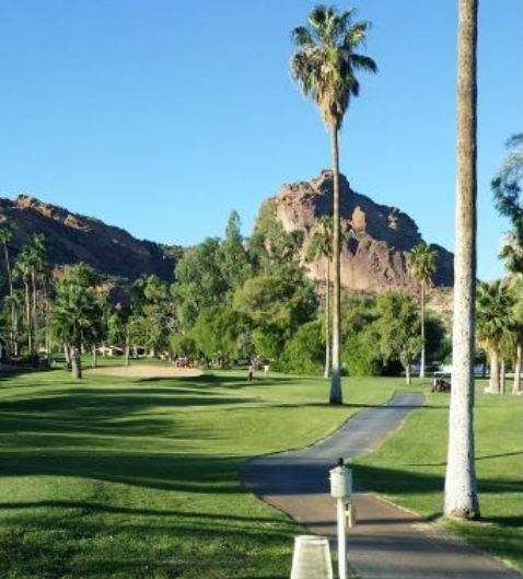 Mountain Shadows Golf Course, CLOSED 2014,Scottsdale, Arizona,  - Golf Course Photo