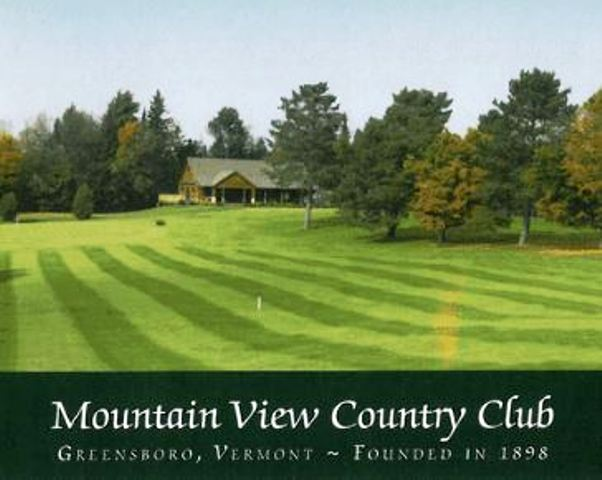 Mountain View Country Club,Greensboro, Vermont,  - Golf Course Photo
