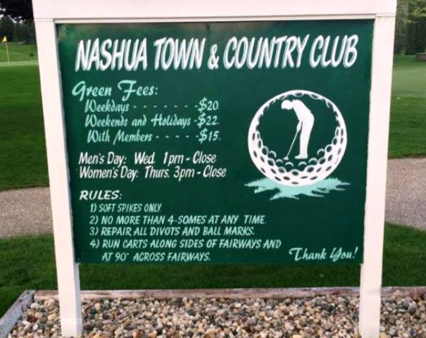Nashua Town & Country Club | Nashua Golf Course