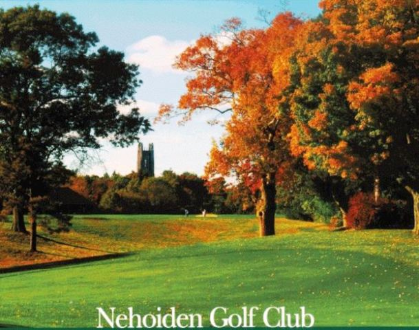 Golf Course Photo, Nehoiden GC, Wellseley, 02481