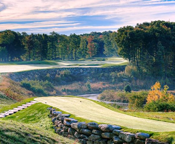 Golf Course Photo, Nemacolin Woodlands Resort, Mystic Rock Golf Course, Farmington, 15437