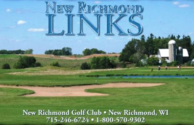 Golf Course Photo, New Richmond Golf Club, The Links Course, New Richmond, 54017