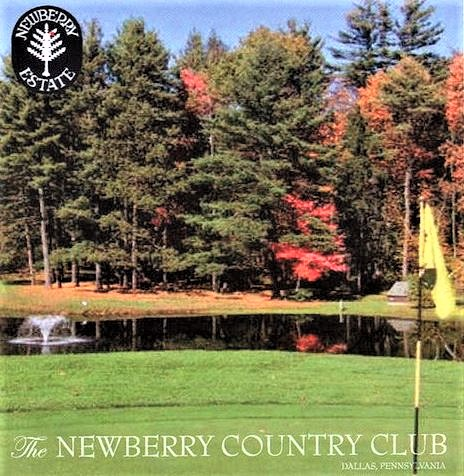 Golf Course Photo, Newberry Estates Country Club, Executive Golf Course, Dallas, Pennsylvania, 18612