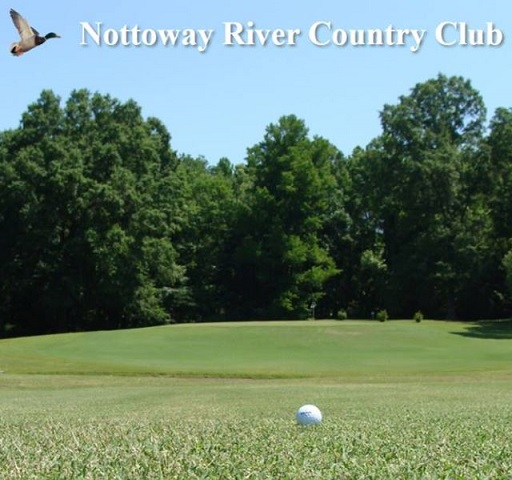 Golf Course Photo, Nottoway River Country Club, Blackstone, Virginia, 23824