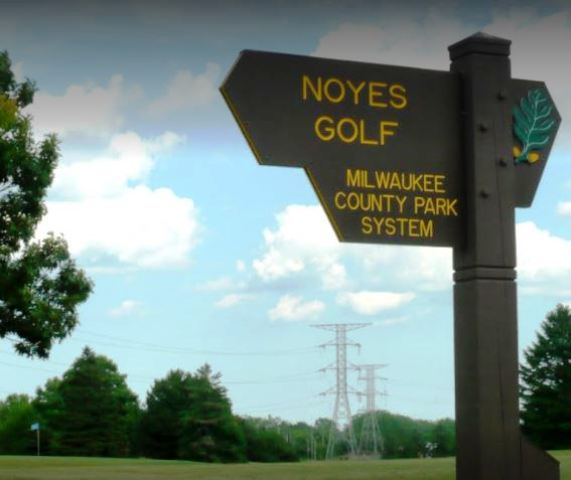 Golf Course Photo, Noyes Park Golf Course, Milwaukee, 2542