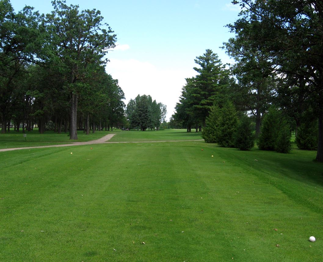 Golf Course Photo, Oak Crest Golf Club, Roseau, 56751