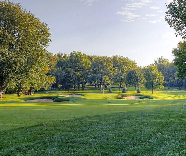 Oak Hills Country Club,Omaha, Nebraska,  - Golf Course Photo