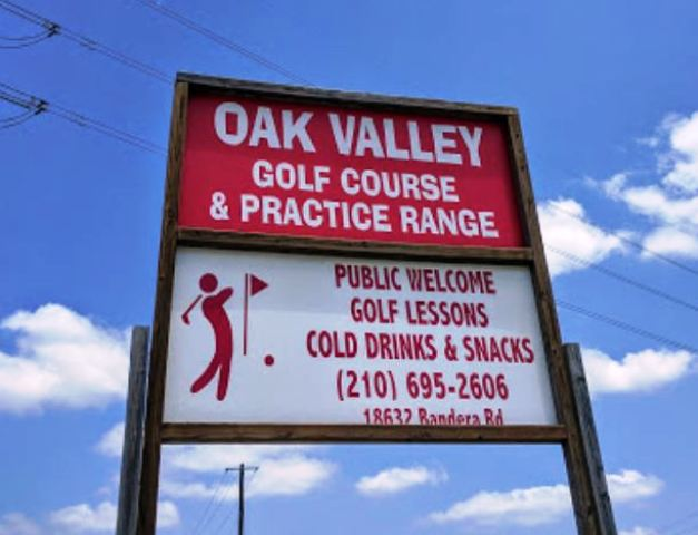 Oak Valley Driving Range & Par 3, Helotes, Texas, 78023 - Golf Course Photo