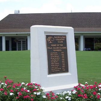 Oakbourne Country Club, Lafayette, Louisiana, 70501 - Golf Course Photo