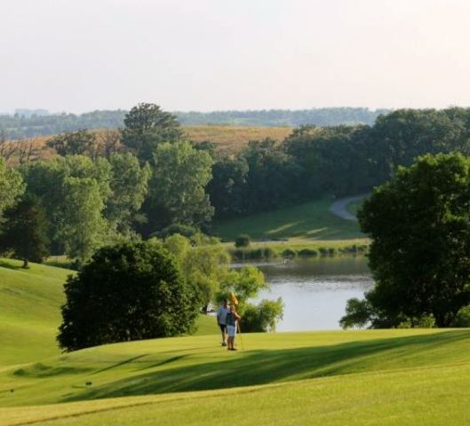 Oakland Acres Golf Club, Grinnell, Iowa,  - Golf Course Photo
