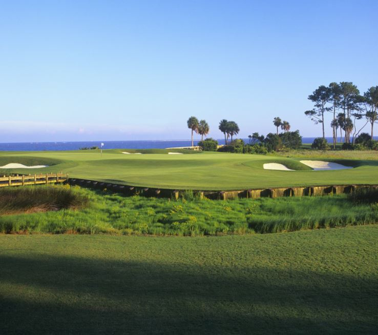 Ocean Forest Golf Club, Sea Island, Georgia,  - Golf Course Photo