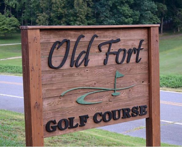 Old Fort Golf Course,Old Fort, North Carolina,  - Golf Course Photo