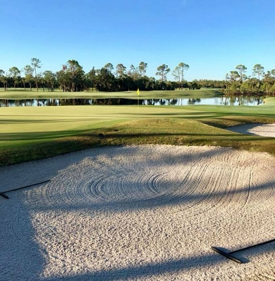 Olde Florida Golf Club, Naples, Florida,  - Golf Course Photo