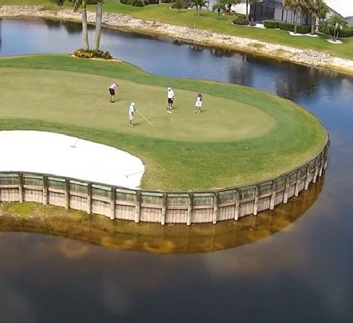 Olde Hickory Golf & Country Club, Fort Myers, Florida,  - Golf Course Photo