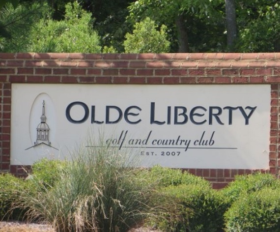Golf Course Photo, Olde Liberty Golf and Country Club, Youngsville, North Carolina, 27596